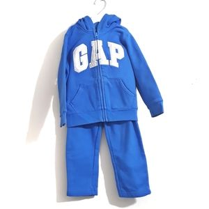 Gap Zip up Hoodie & Jogger Set for Boys Size 5Y
